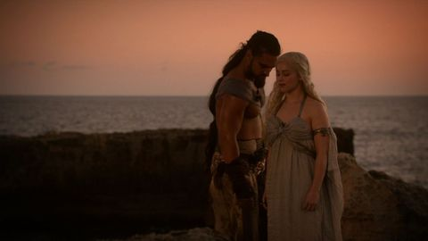 daenerys drogo wedding night