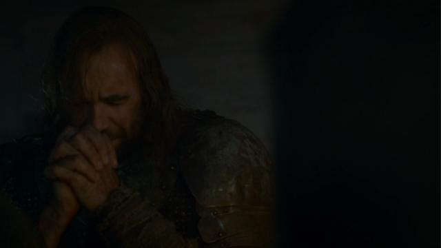 sandor praying